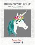Laser Cut Kit - Unicorn Sapphire