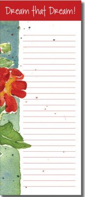 List Pad - Trumpet Flower