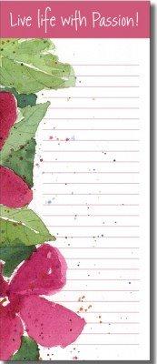 List Pad - Hibiscus