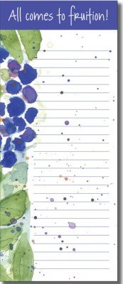 List Pad - Blueberries