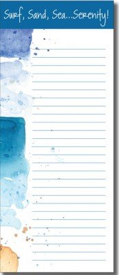 List Pad - Seascape