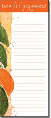 List Pad - Citrus Fruit