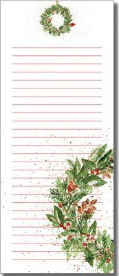 List Pad - Wreath