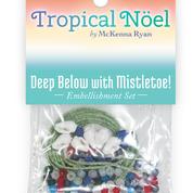 Deep Below with Mistletoe Embellishment Kit