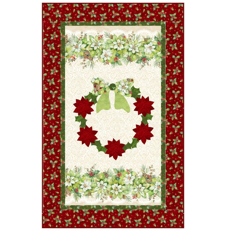 Deck the Halls - Wreath Pattern