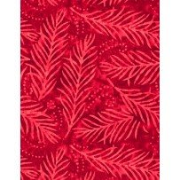 108 Delicate Frond - Red
