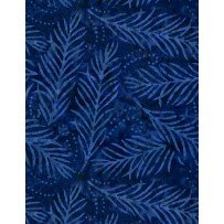 108 Delicate Frond - Navy