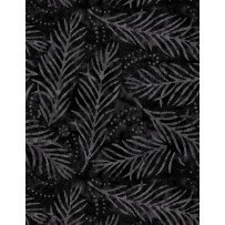 108 Delicate Frond - Black