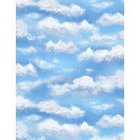 Autumn Grove - Sky Blue