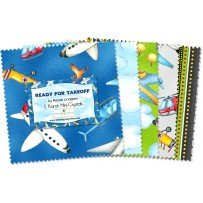 Ready for Takeoff - Charm Squares