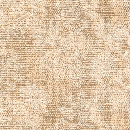 Coffee Break - Floral Texture Beige