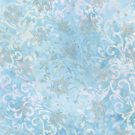 Batik - Twilight Snowfall - Sky