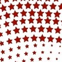 Wavy Stars - Red/White