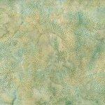 Batik - Dotty Swirls Celery