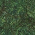 Batik - Dotty Swirls Viridian