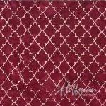 Batik - Quatrefoil Ruby