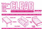 16 Gauge Clear Vinyl 10 x 13