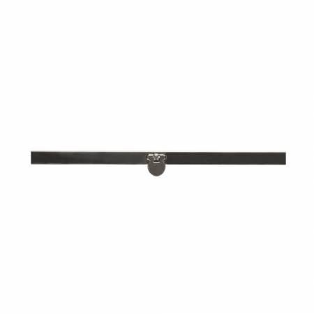 4 1/2 Wallet frame Gunmetal  AG-108