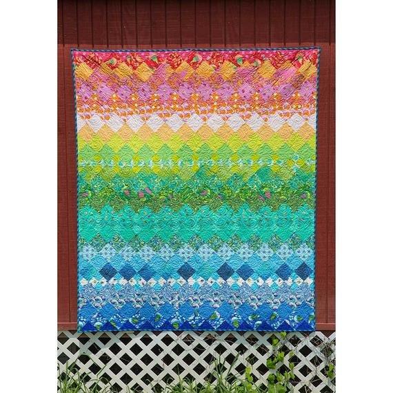 Aurora Quilt Kit 68 x 80 by Tula Pink