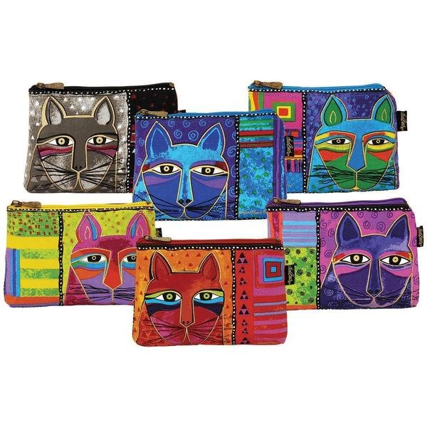 Cosmetic Bags Whiskered Cats