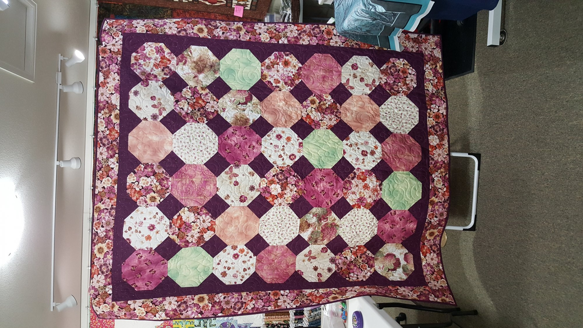 Floral Impressions Quilt Kit
