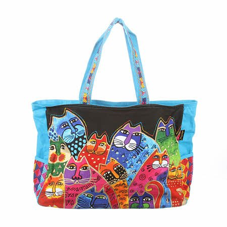 LB5600 Oversized Tote Whiskered Family
