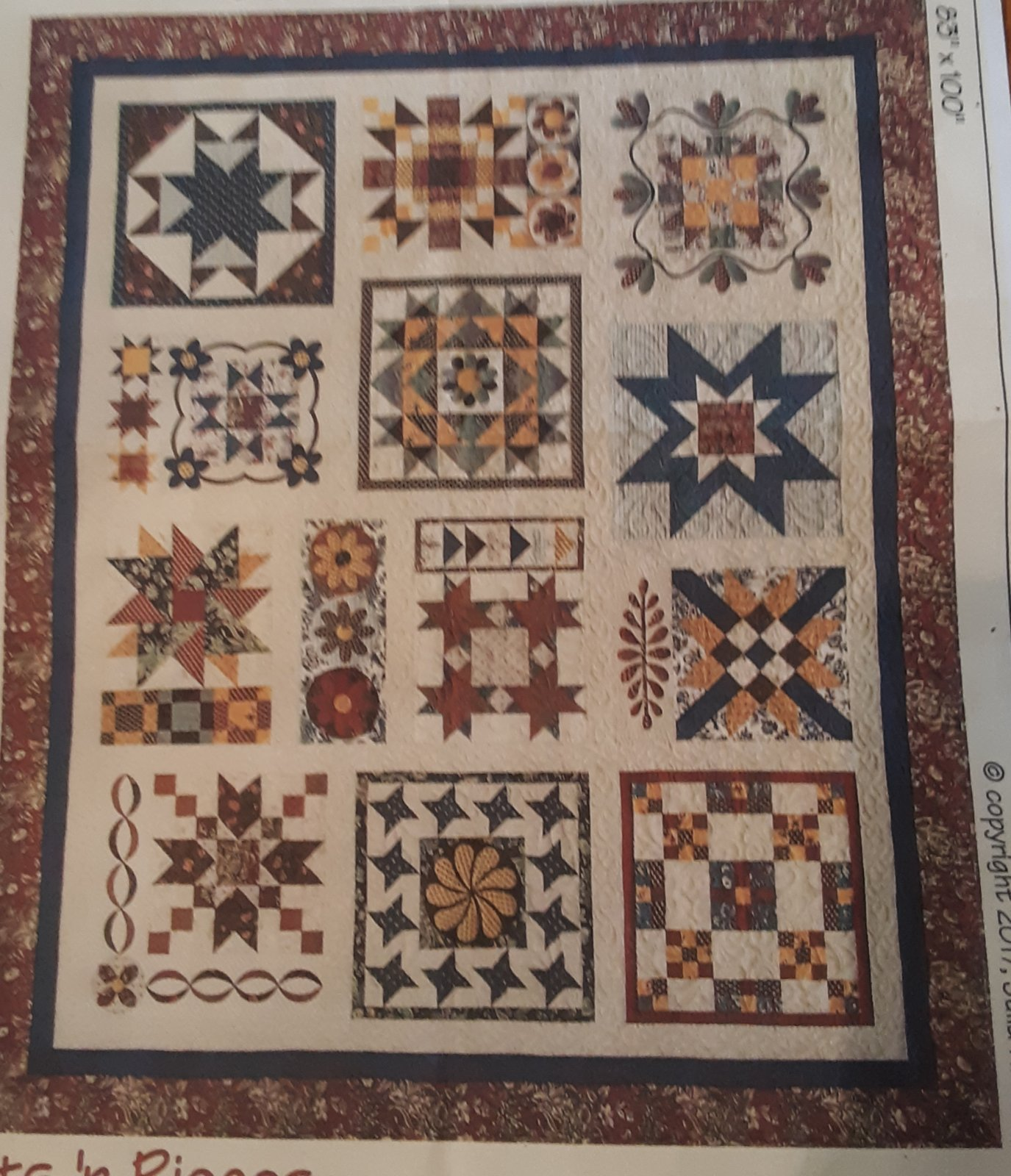 Block of the Month A Few of Our Favorite Things Quilt