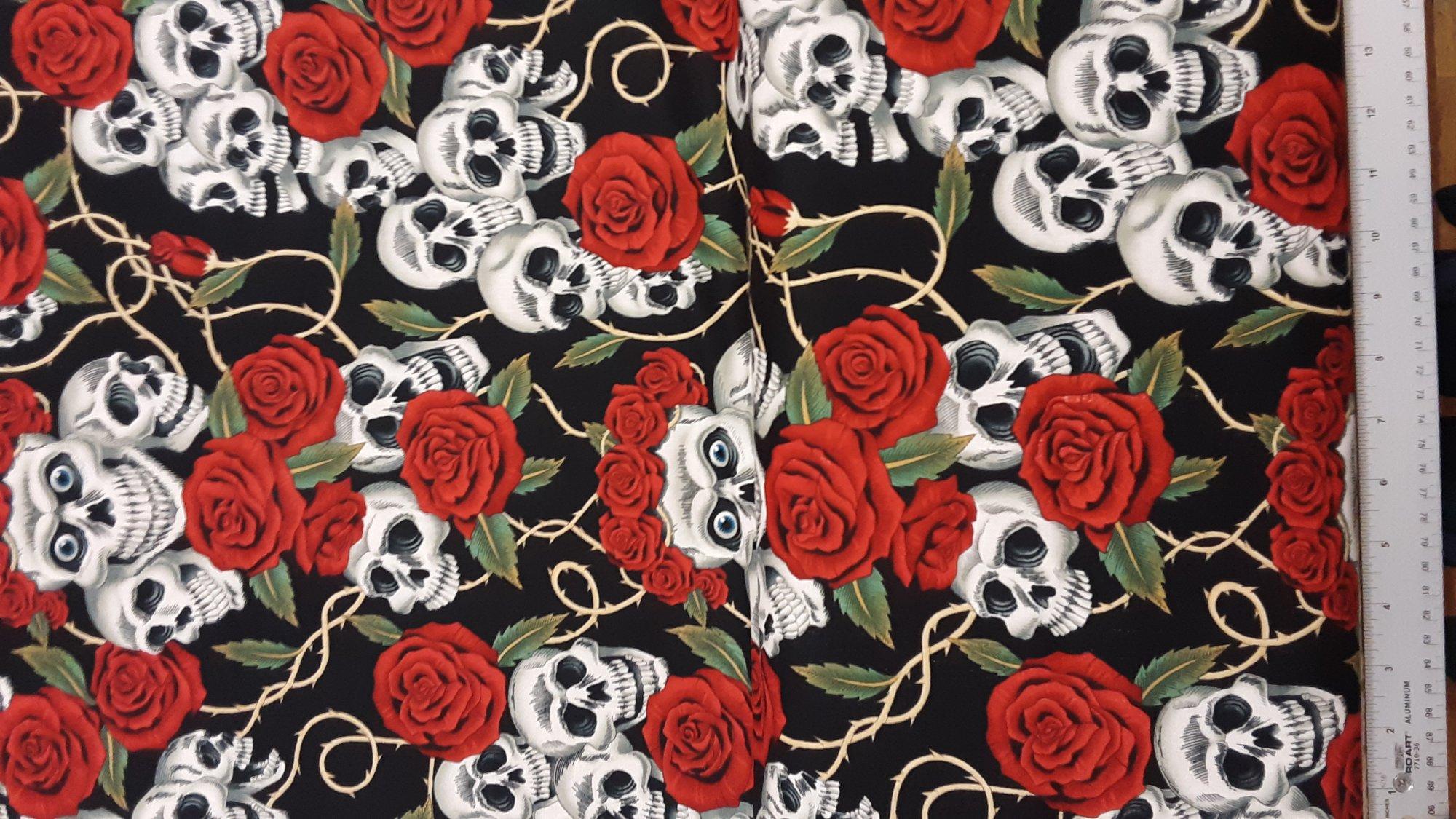 Alexander Henry Nicole's Prints Rose Tatoo #6457