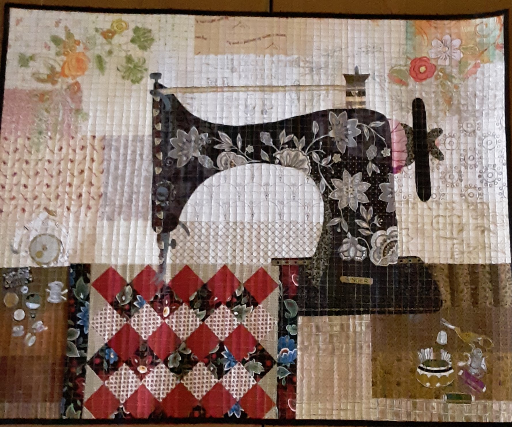 Featherweight Collage Fabric Kit