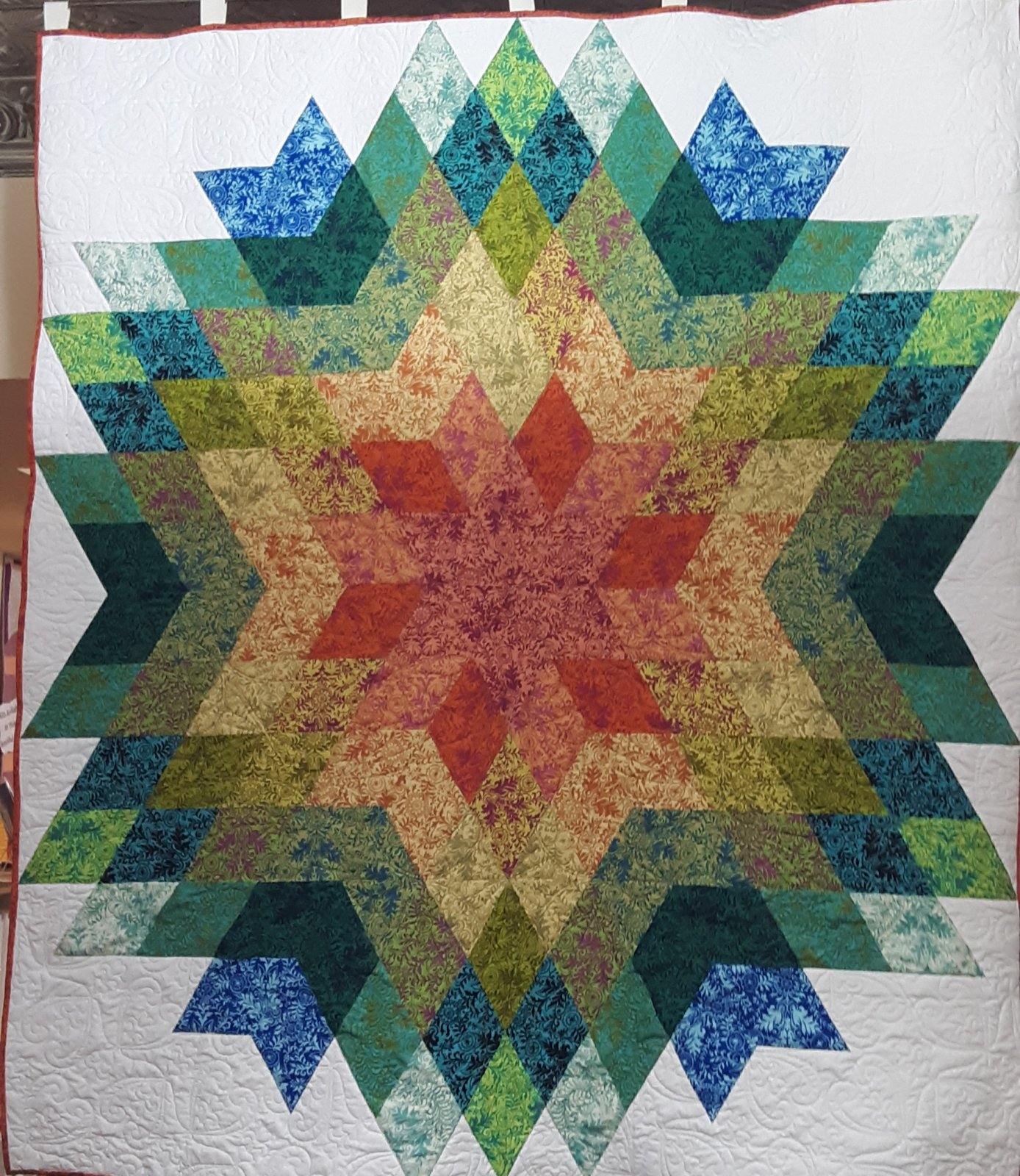 Medallion Sar Quilt Kit