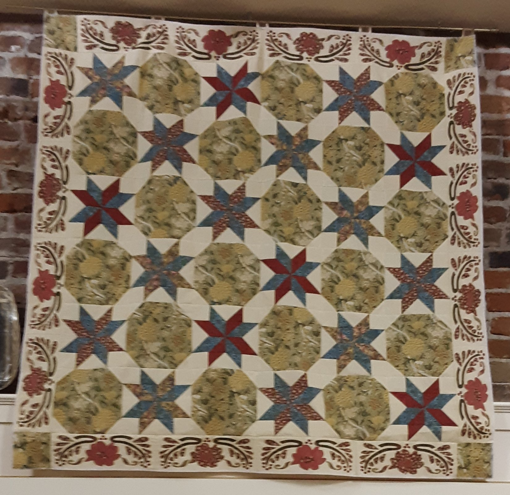 Metropolition Quilt Kit w/ William Morris Fabric