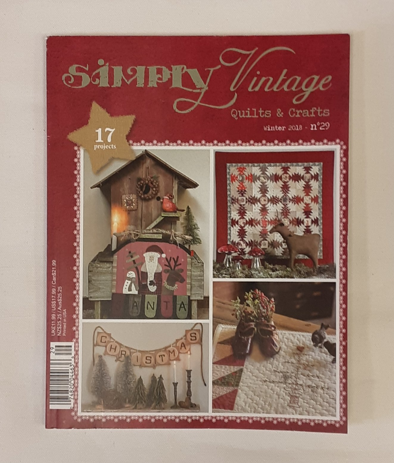Simply Vintage Magazine #29 Winter 2018