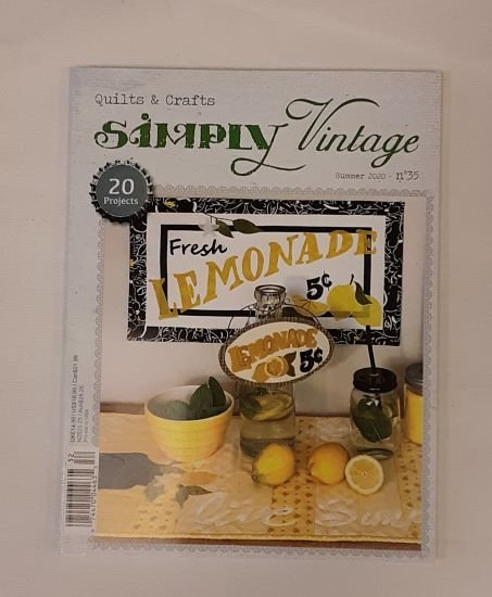 Simply Vintage Magazine #35 Summer 2020
