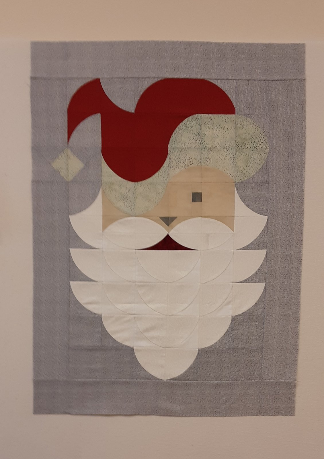 Posh Santa Wallhanging Kit