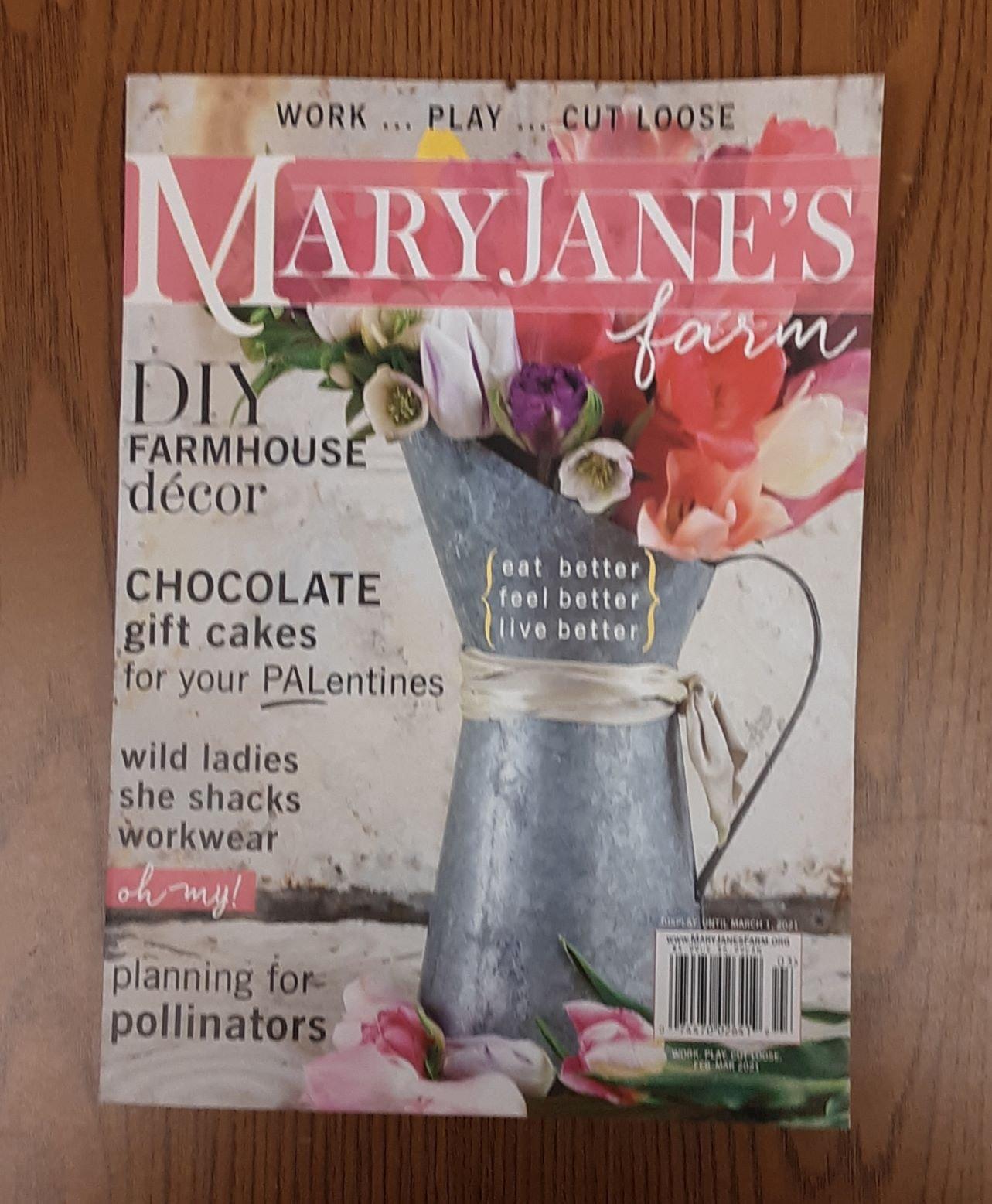Mary Jane's Farm Magazine Feb-Mar 2021