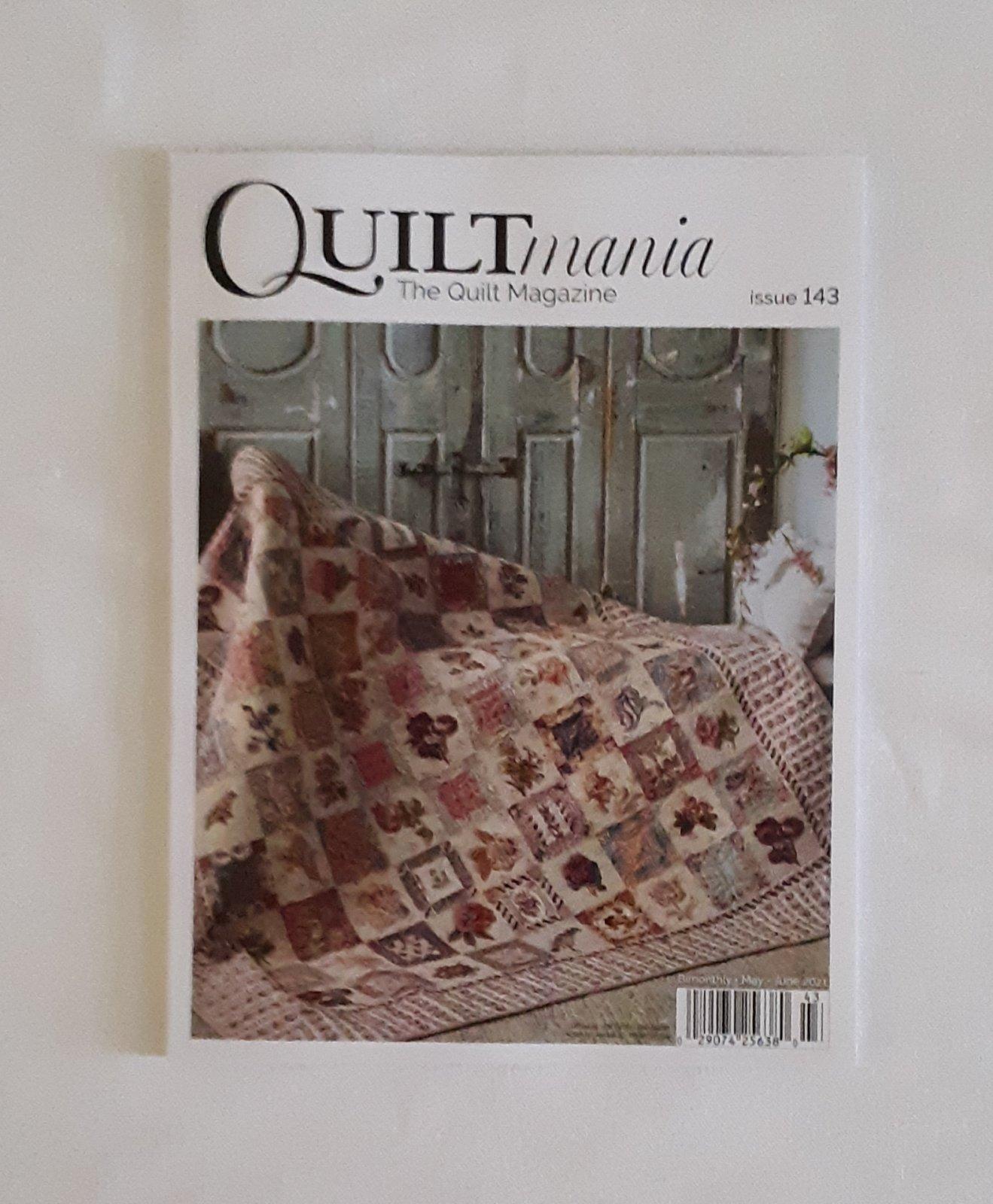 Quiltmania Magazine #143 May/June 2021