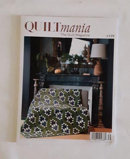 Quiltmania Magazine #139 Sept/Oct 2020