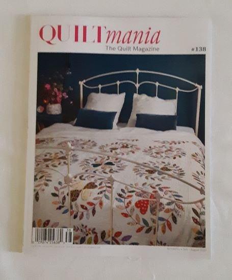 Quiltmania Magazine #138 July/Aug 2020