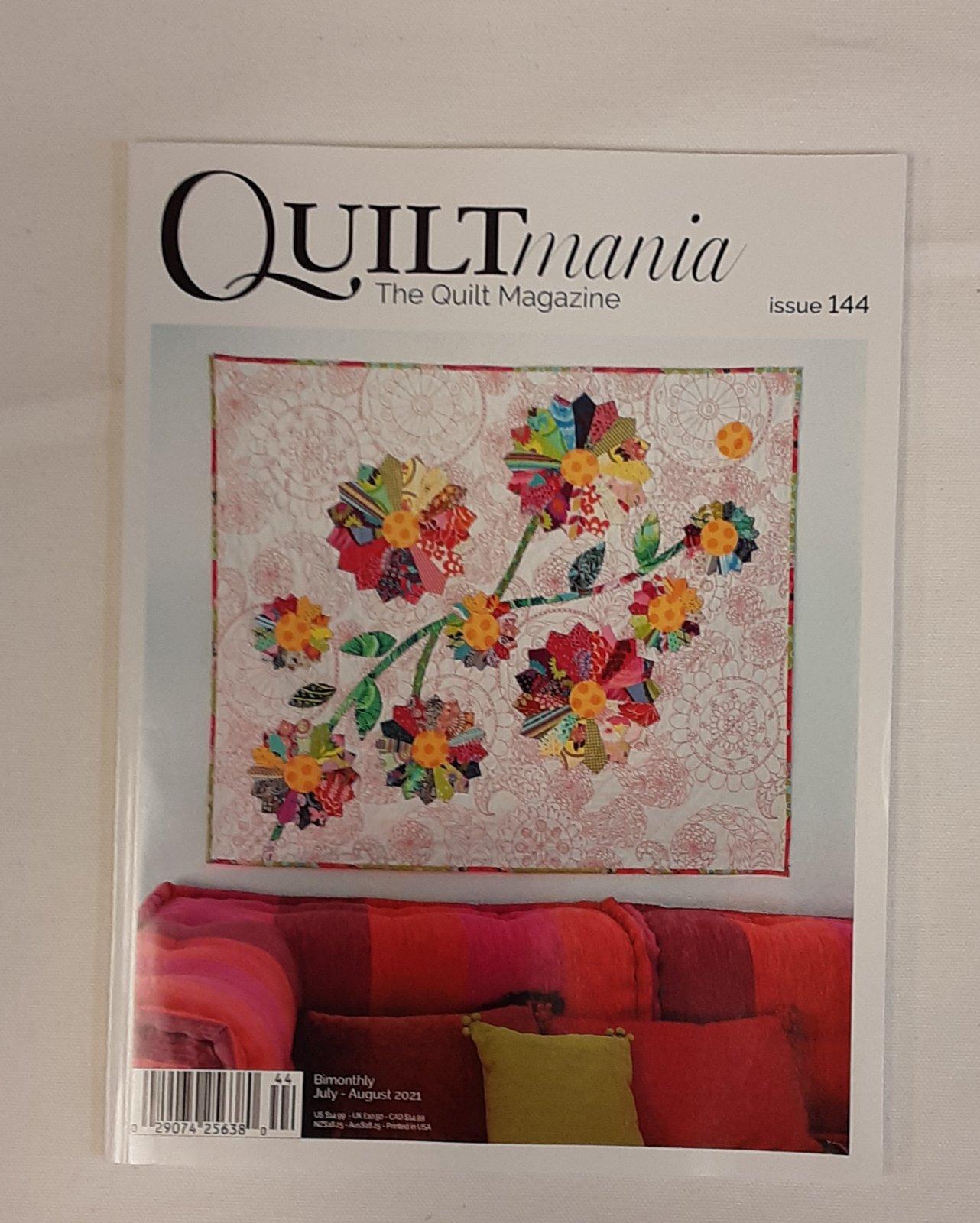 Quiltmania Magazine #144 July/Aug 2021