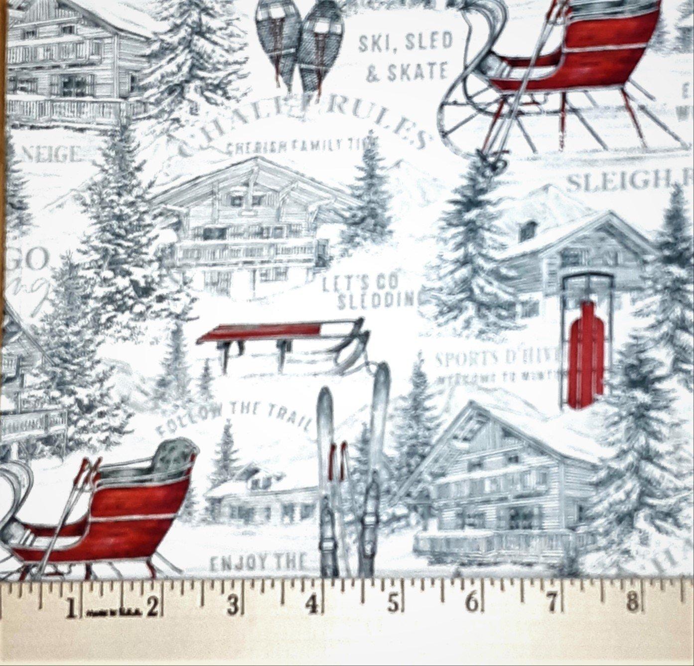 Alpine Winter Toile #24336 10