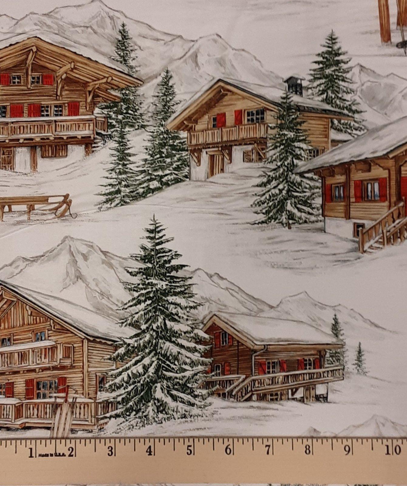 Alpine Winter Village #24333-10