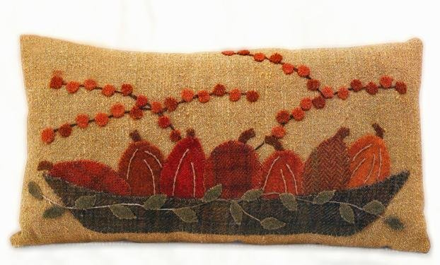 Harvest Gold Pillow Pattern