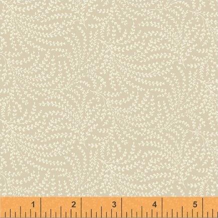 108 Wide Back Scrolling Vine Beige #50664-7