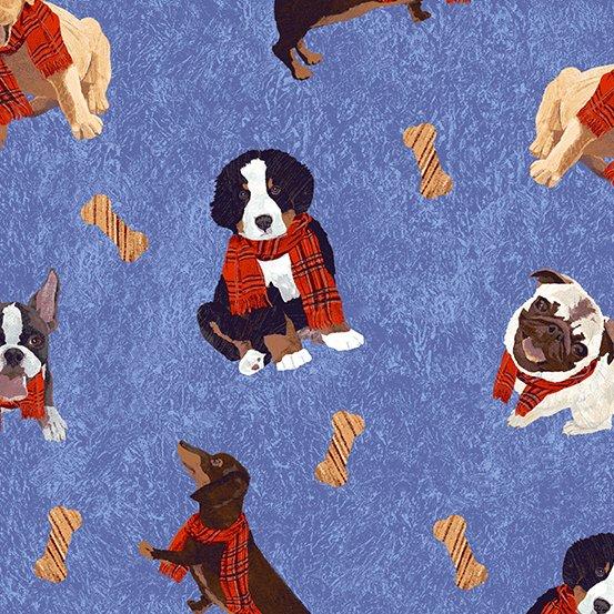 Andover Ruff Life Dog Print  #9204