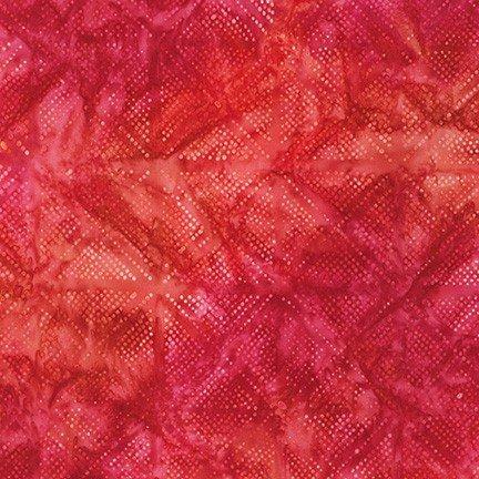 Connect the Dots Batik Red #19880-3