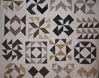 All Bark Maven Quilt Kit by Basic Gray