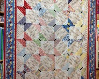 Butterflies Flutter By Quilt Kit