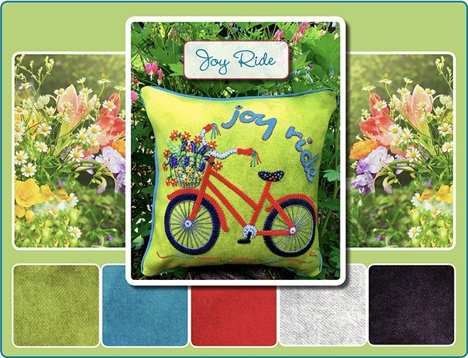 Joy Ride Wool Pillow Kit