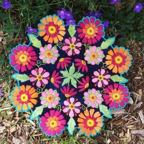 Kaleidoscope Table Mat Wool Kit