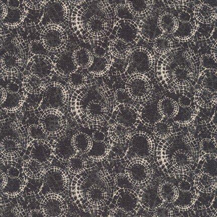 Microlife Textures Circle Charcoal #17167-184